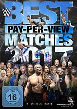 WWE The Best PPV Pay Per View Matches 2017 3x DVD DEUTSCHE VERKAUFSVERSION