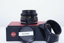 Leica Elmarit-R 28mm f/2.8 3 Cam Lens #3039889