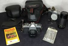 2 Pentax K1000 w/50mm f1.7 Lens and Bag Plus So Much More