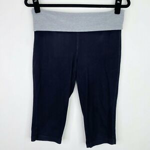 Xhilaration Black Cropped Pajama PJ Lounge Capri Pants Size Small Womens