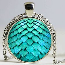 Wholesale Glass Dome Necklace Dragon Egg Pendant Necklace Game of Thrones Dragon
