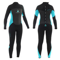 Legacy 5mm Ladies Full Wetsuit Winter GBS Steamer Long Womens Wet Suit Surf 8-18
