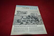 Oliver Tractor 6342 Two Way Plow Dealer's Brochure TBPA