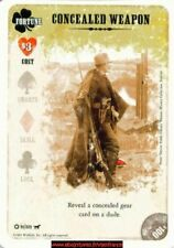 High Stakes Drifter CCG - Concealed Weapon - 91/225 - Fortune