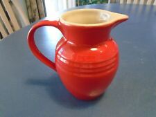 Le Creuset Red Small Pitcher
