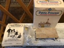 VIN.Ideal Petite Princess Fantasy Furniture Palace Table Set plus Accessories