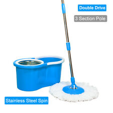 Magic Spin Mop 360 Degrees Rotating Easy Mop Classic Color