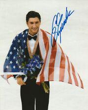 EVAN LYSACEK SIGNED USA FIGURE SKATING 8x10 PHOTO! 2010 OLYMPICS GOLD PROOF