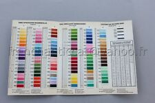 48-312 dmc threads échevettes cross stitch floss pyo choisissez vos propres couleurs gratuit p/&p