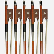 Lot 5 x  Arbor White Horsehair 4/4 Violin Bow For 4/4 Size Violin-Violin Bow