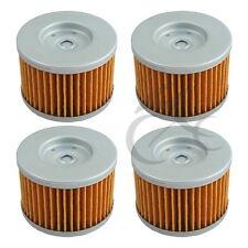 4 PCS Oil Filters For Honda XR250R XR350R XR400R GB500 NX250 NX650 XL250R XR600R