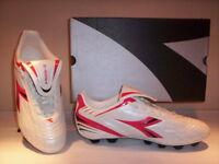 5e70f1a259775 Scarpe da calcio Diadora Suono MD uomo shoes men soccer sportive bianche  new 41