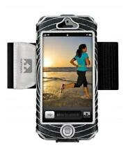 Nathan Sonic Boom Armband for iPhone 5 4 4S Black and Silver FREE SHIPPING!