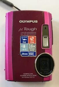 Olympus uTough 3000 12.0 MP Digital Camera (12C) CAMERA & BATTERY ONLY
