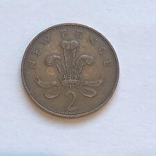 "Rare 1971 ""New Pence"" (2p) Coin - Birthday Wedding Anniversary Gift"