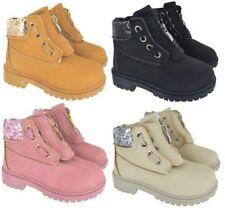 Chaussures roses en caoutchouc pour fille de 2 à 16 ans