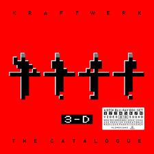 KRAFTWERK 3-D THE CATALOGUE  4xBLURAY + HARDBACK BOOK SET  (26THMAY) NEW/MINT