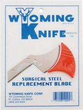 Wyoming Knife Replacement Surgical Steel Blade for Wyoming Knife Made in the USA