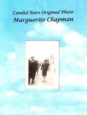 Candid Rare Photo of Marguerite Chapman Original Actress Four Sons 7 Year Itch