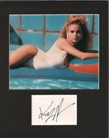 Kelly Preston Signed Autographed Cut Matted 11x14 w/COA 073019DBT2