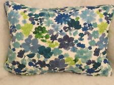 Cojín de color principal azul de 36 cm x 36 cm para el hogar
