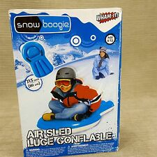 """Snow Boogie Air Sled Inflatable Luge w/ Handles 31.5"""" Winter Wham-It Toys NEW"""