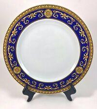 "Versace Rosenthal BLUE MEDUSA 10.5"" Dinner Plate EXCELLENT PRE-LOVED CONDITION"