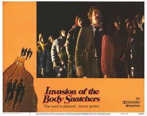 INVASION OF THE BODY SNATCHERS Movie POSTER 11x14 F Leonard Nemoy