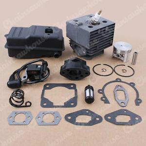 46MMCylinder Exhaust Muffler Fit Stihl SR400 SR420 BR320 BR400 BR340 BR380 BR420