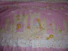 Baumwollstoff  rosa pink Prinzessin Märchenschloß 1,60m breit ab 30cm