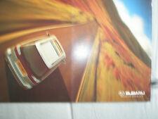 Subaru Legacy & Outback Estates brochure c1999