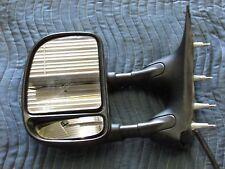 09-13 FORD E250 VAN OEM Left Door Mirror Power, Dual Arms, W/ Telescoping