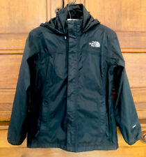North Face Youth Black Lightweight Hyvent Jacket Size Large Age 12-14
