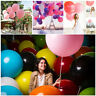 36 '' Riesen Latex Luftballons Wasserstoff Hochzeit Party Pop Mode Dekoration
