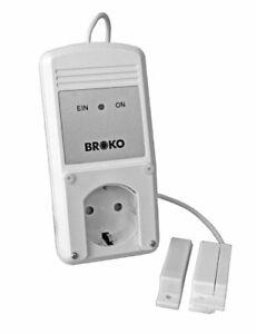BROKO BL110K Abluft - Sicherheitsschalter / 6m Kabel/ DIBt geprüft