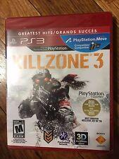Killzone 3 (Sony PlayStation 3, 2011) BRAND NEW, GREATEST HITS