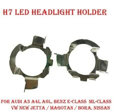 2 ADAPTADORES KIT LED H7, ADAPTADOR BOMBILLA LED H7, KIT XENON H7, CLIP FARO