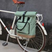 Tourbon Bike Rear Rack Saddle Carry Pannier Backpack Shoulder Bag Travel Cycling