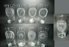 Zombies Perk a Cola Pint Glasses. Series 2.  9 Glass Set. Call of Duty Black Ops