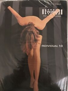 Wolford Individual 10  TIGHTS Size Extra Small Color:  Anthracite  11640 - 08