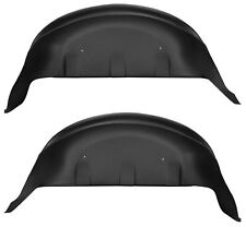 Husky Liners Black Rear Wheel Well Guards 2017-2019 Ford F-250 F-350 Super Duty