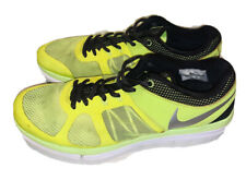 MEN NIKE FLEX 2014 RUN Yellow SZ 9.5 Running Shoes Good Condition