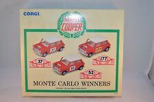 Corgi 97712 Mini Cooper Monte Carlo Winners 1:43 mint in box