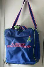 Dynastar Ski Duffle Boot Bag Vintage Taiwan Blue Pink Green
