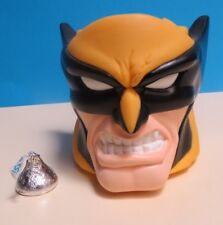 """APPLAUSE ~ MARVEL WOLVERINE ~ MOLDED """"KIDS CUP"""" ~ PLASTIC ~ 1997 ~ WITH LABLE"""