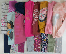 LOT Girls Clothes Size 6 6X Outfits Shirts Leggings Mix Fall Winter