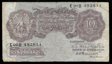New ListingWorld Paper Money - Great Britain England 10 Shillings 1948-49 P368a @ Vg