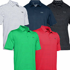 Under Armour Hombres 2020 Tour Raya Playoff Rendimiento Stretch Golf Polo Camisa