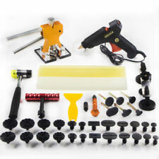 UK PDR Paintless Dent Puller Lifter Tool Repair Hammer Removal Hail Glue Gun Kit