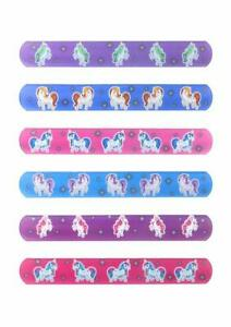 Unicorn Snap Bracelet for Kids Party Bag Fillers Snap Bracelet Wristband